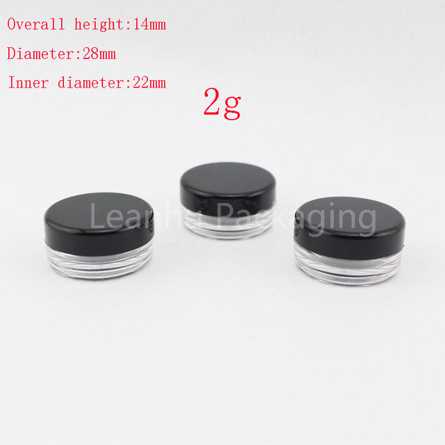 Luxury Sample Cosmetic Containers