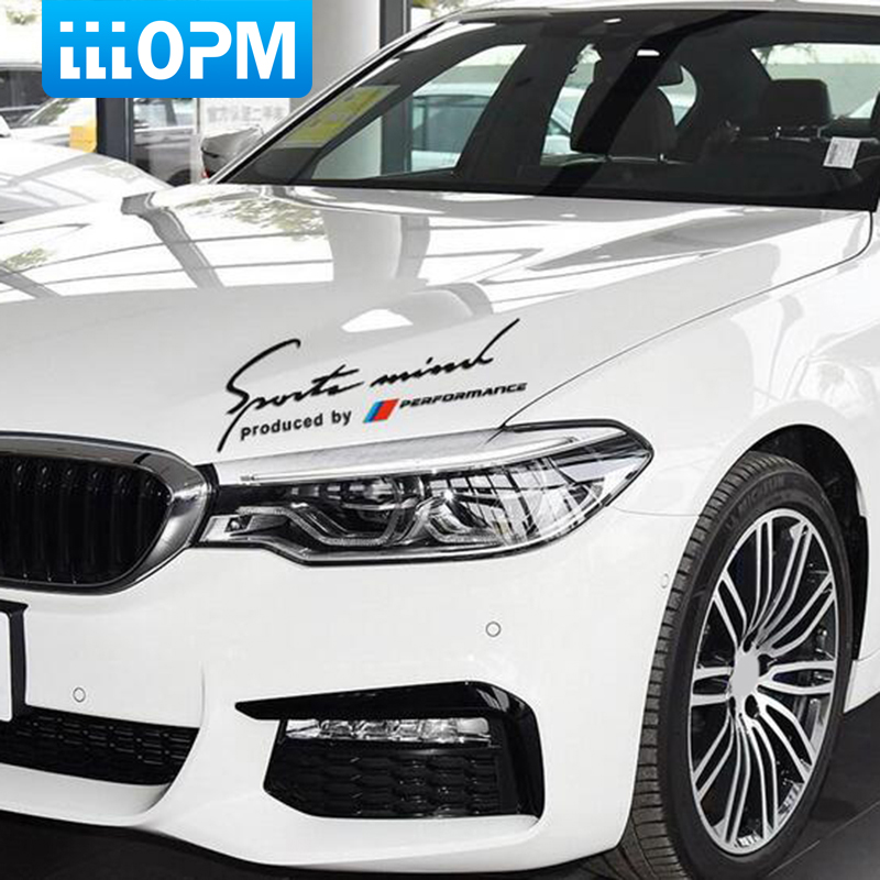 Limited Edition Eyebrow Decal Sticker For BMW M Performance Racing Motor Sport