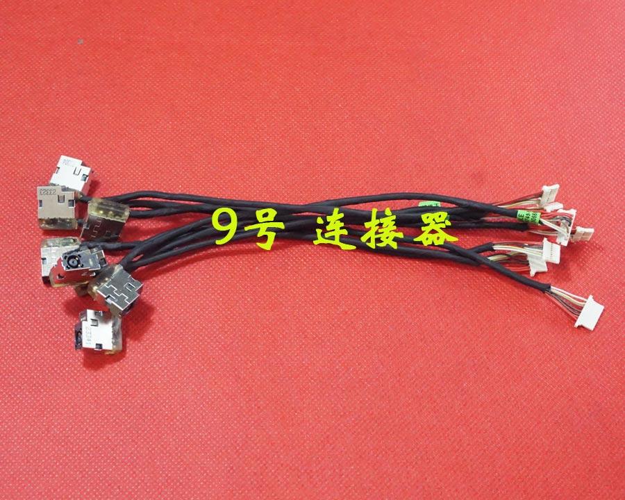 Power Jack Cable For HP Pavilion 15-AB 15-AK 15T-AB 15Z-AB 15T-AK 15-AN 15-AK 17-X 250 255 G4 799749-F17 799749-S17 799749-Y17