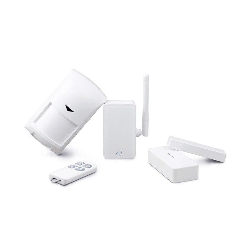 Broadlink kit de alarmas y seguridad, s1/s1c smartone pir/detector de puerta sen