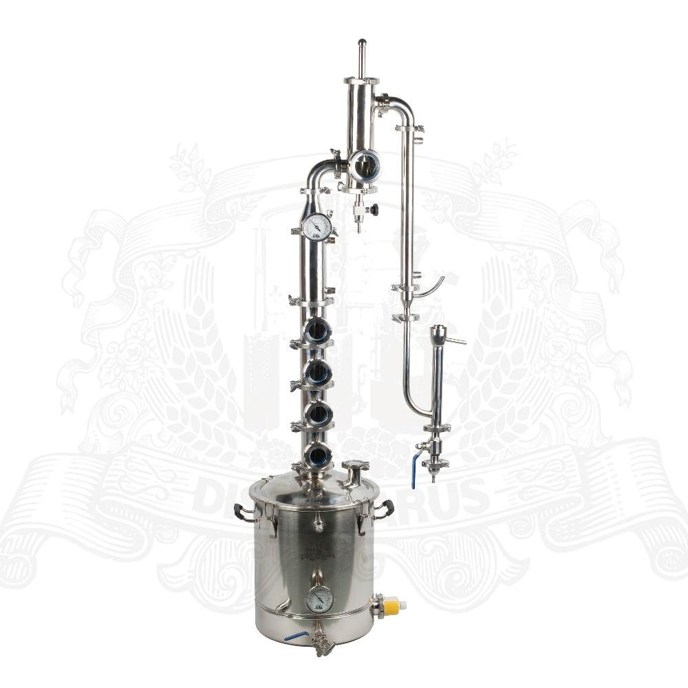 38-55l kit In Acciaio Inox per la distillazione con Gin Cestino