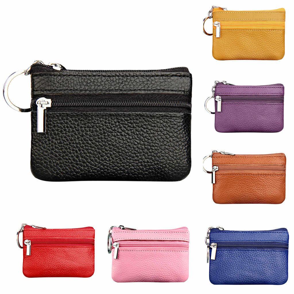 cfa0a953f11c Women's Coin Purse Short Student Cute Mini Coin Bag Small Wallet Key Change  Small Bag Coin Wallets Porte Monnaie Femme HOT