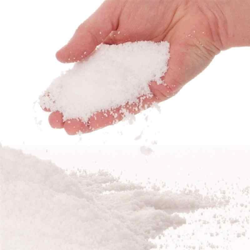 5 шт порошок белый искусственный снег слизь лучше всего для слизи облако слизь Замороженные дни рождения ощущение как настоящий снег для Рождественского украшения