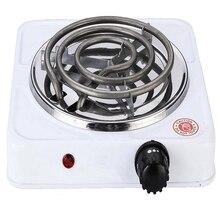 Электрическая печь 1000 Вт, кухонная плита для приготовления кофе, нагреватель для кальяна, курительная трубка, уголь, мини-нагреватель для дома, вилка стандарта США