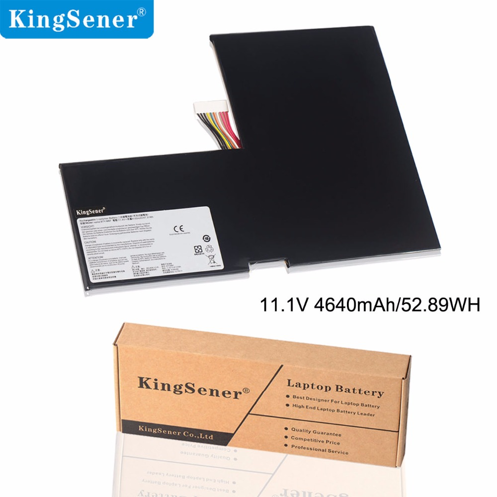 KingSener New BTY-M6F Laptop Battery dla MSI GS60 MS-16H2 MS-16H4 2PL 6QE 2QE 2PE 2QC 2QD 6QC 6QC-257XCN Seria 11,4V 4640mAh