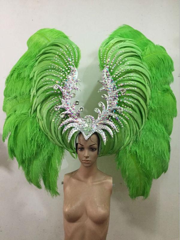 Latin dance Samba accessories Fashion exquisite headdress ...