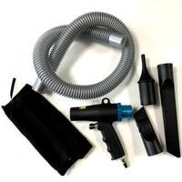 Free shipping New 2 In 1 Gun Kit Dual Function Air Vacuum Blow Gun Pneumatic Vacuum Cleaner Kit Blow Suction Gun Kit Tools