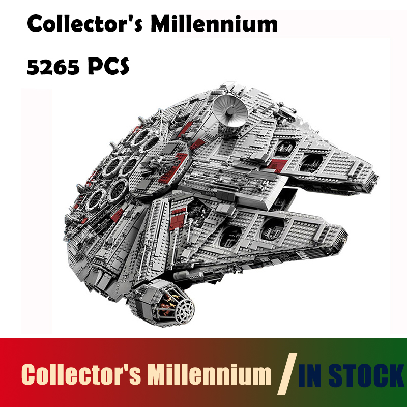 Compatible with lego 05033 Star 5265Pcs Wars Collector's Millennium Model Falcon Building Kit Blocks Bricks Toy Gift 10179 банный комплект softline 05033