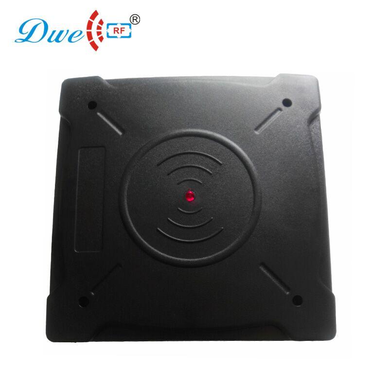 DWE CC RF lecteurs de cartes de contrôle rs232 HDX FDX-B longue distance rf 134.2 khz lecteur rfid iso 11784 avec 2 FDX-B étiquette d'oreille frais