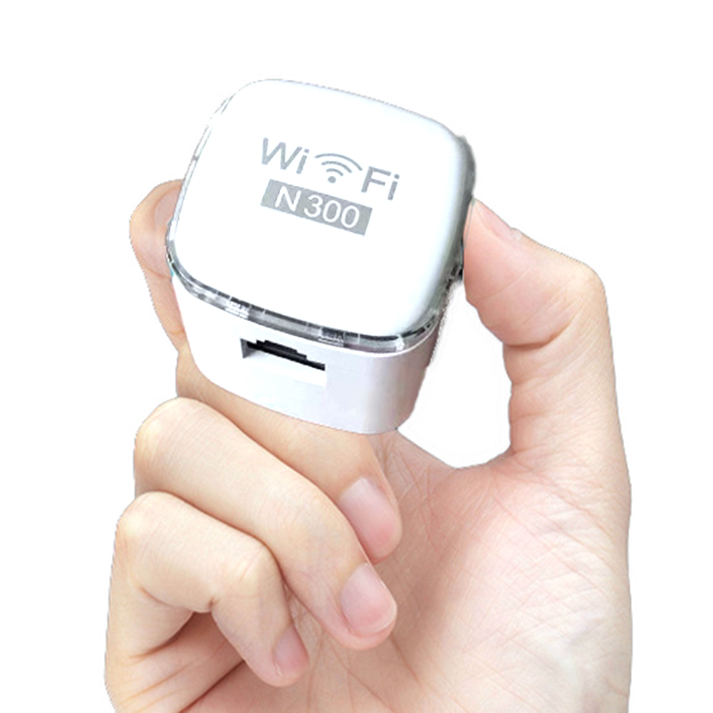 WiFi Range Extender Mini Wireless 300 Mbps Wi-Fi Repeater Ethernet Port Internet Signal Amplifier  GDeals