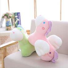 New Style Lovely Little Flying Hourse Plush Toy Stuffed Soft Doll Toys Girl Birthday & Christmas Gift