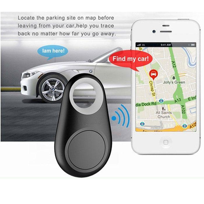 New Anti-Lost Theft Device Bluetooth V4.0 Alarm 40mA GPS Tracker Key Finder Phon