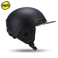Nandn Ski Helmets PC EPS Ultralight High Quality Snowboard Helmet Men Women Skating Skateboard Skiing Helmets