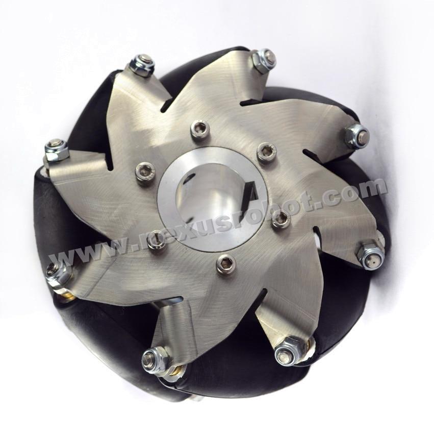152mm (6 Polegadas) Heavy Duty Mecanum Roda Direita (50KG Payload) 14155