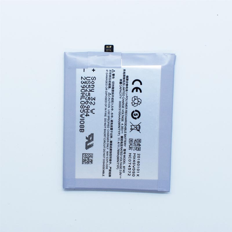 Hekiy New High Quality BT40 Battery For Meizu MX4 3000 ~ 3100mAh Mobile Phone Batteries Li-polymer Rechargeable In stock