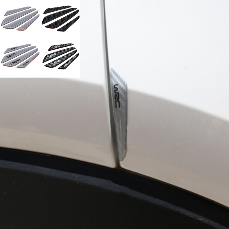 FIAT PORTE Collision Protecteur Scratch Guard /& ANTI-RUB Trim Strip Set