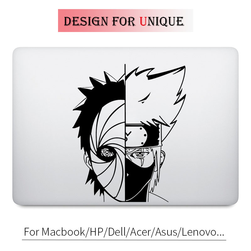 Kakashi Obito Naruto Anime Decal Laptop Sticker for font b Apple b font font b Macbook
