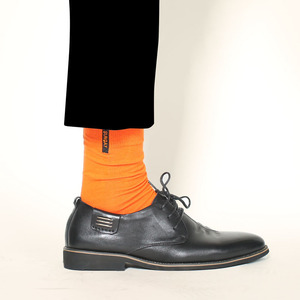 Image 4 - New Mens Colored Cotton High Quality Solid Color Business Casual Week Long Socks 7 Pair