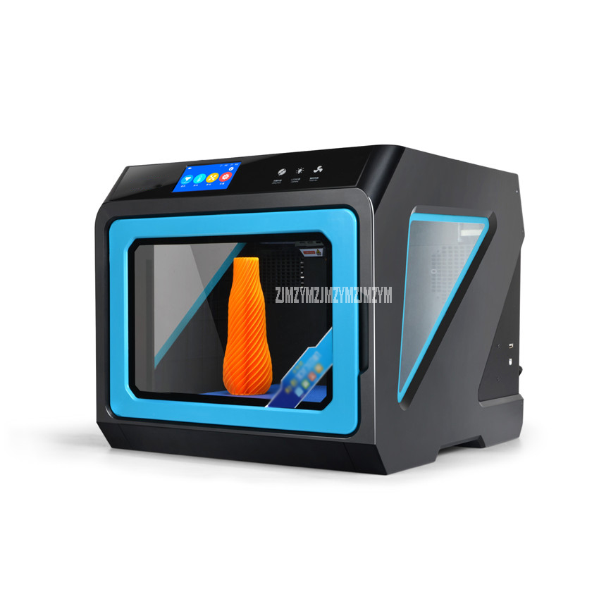 A7 Fully Intelligent Desktop 3d Printer High Precision Auto Leveling Wifi Connection Magnetic Removable Extruder And Platform