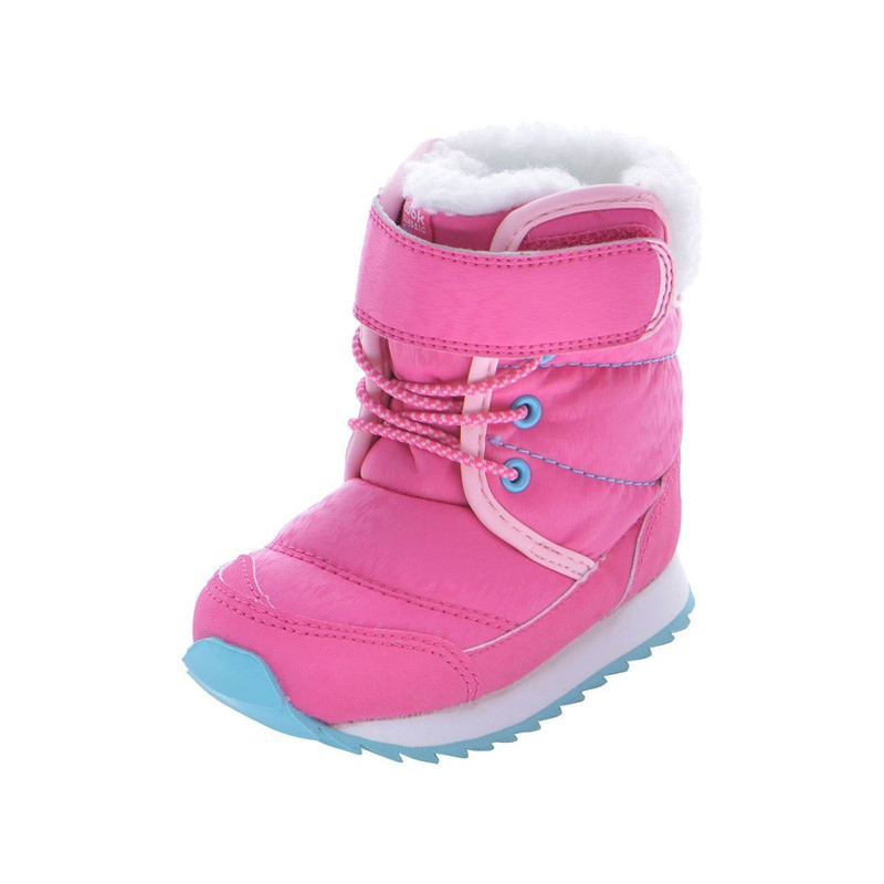 REEBOK Winter Snow Boots Boys Girls Thicken Warm Leather Plush Fleece Mid  Calf Baby Kids Toddlers Sport Casual Sneaker Boots-in Sneakers from Mother    Kids ... 1b3228bf2