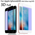"HD 3D Soft edge Full Coverage Tempered Glass Screen Protector Film For Apple iphone 6 6S i6 4.7"" 9H  anti blue ray"