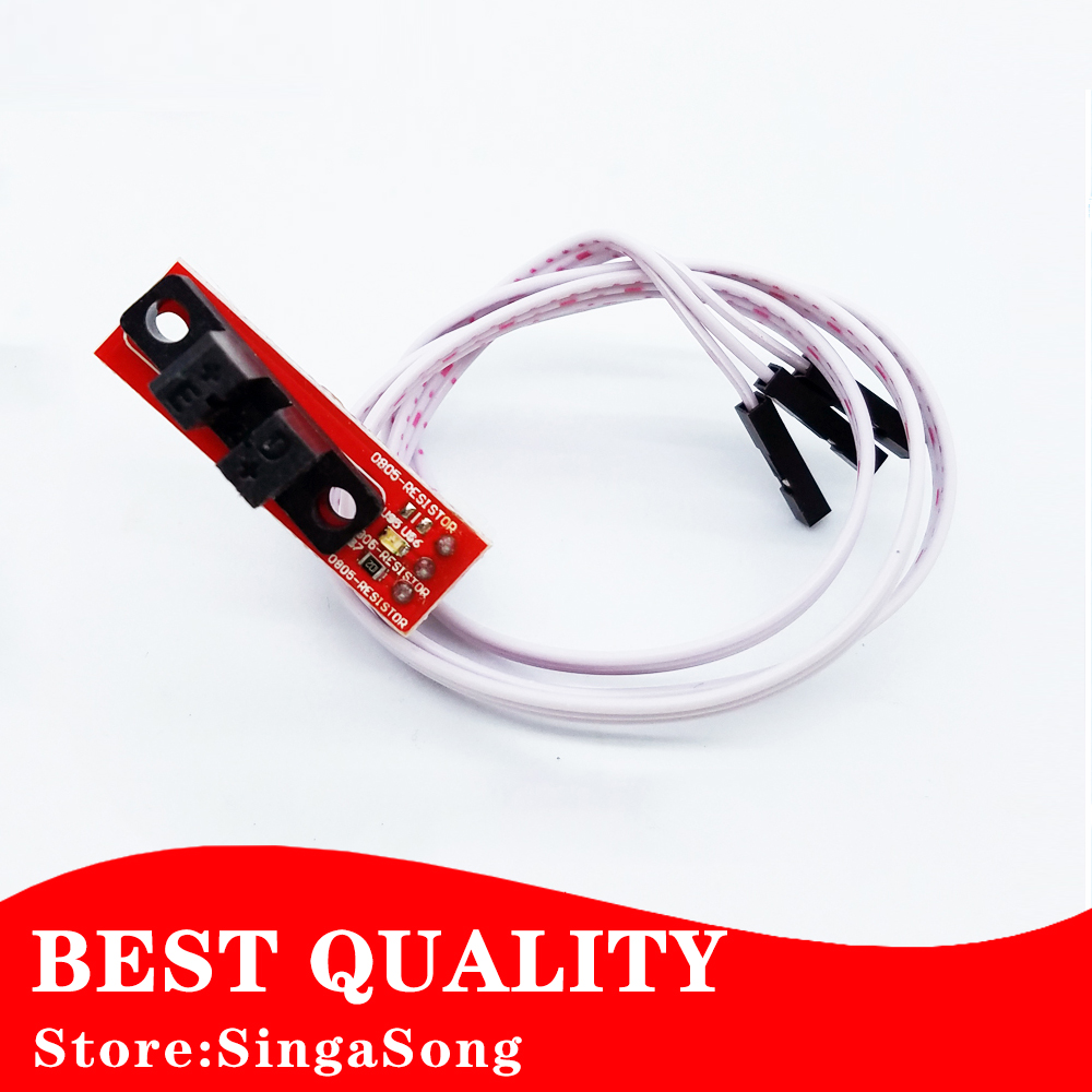 6sets/lot Optical Endstop Light Control Limit Optical Switch for 3D Printers RAMPS 1.4 new opto optical endstop end stop switch cnc optical endstop using tcst2103 photo interrupter