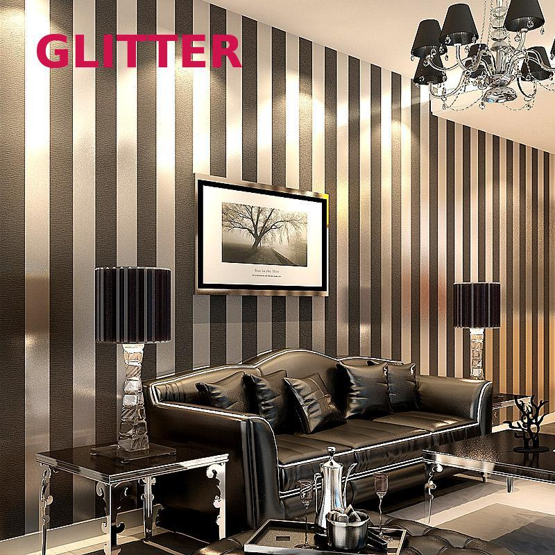 Wallpaper Modern Papel De Parede Roll 3D Paper Black And White Striped Wallpaper For Living Room Wallpaper Black White custom black white retro wallpaper new york wallpaper for walls 3d living room kitchen restaurant cafe wall papel de parede