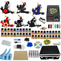 ITATOO Pens Tattoo Kit Cheap Tattoo Machine Set Kit Tattooing Ink Machine Gun Supplies For Jewelry Weapon Professional PX110007