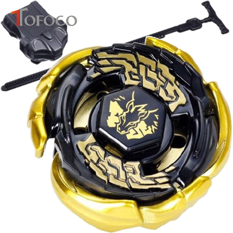 TOFOCO Metal Fusion Gold Pegasus Beyblade Spinning Top For Sale Toupie Beyblade Toys Launchers 4D Kids Game Toys Children Gift