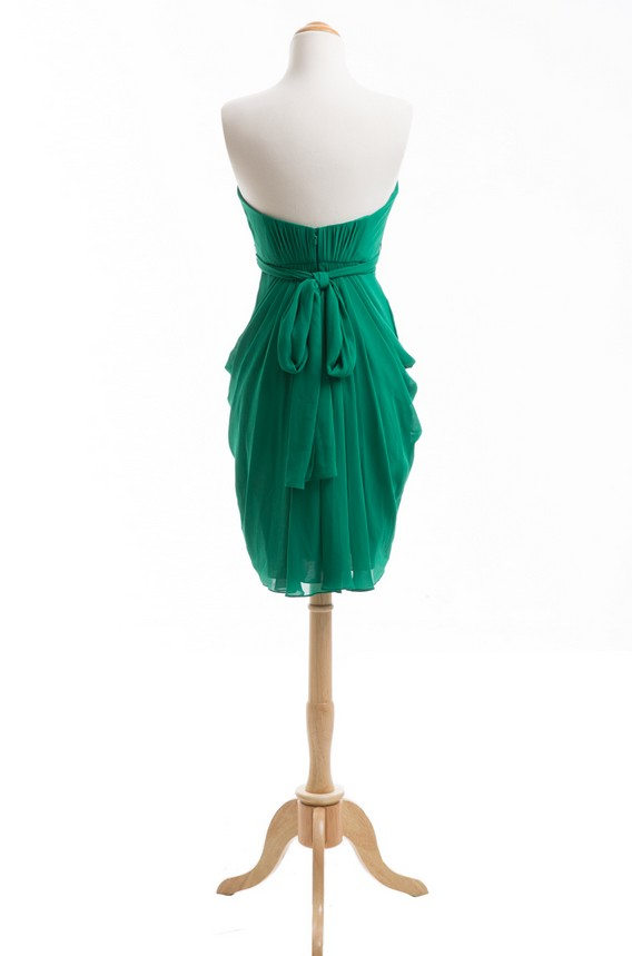 Emerald πράσινο φόρεμα παράνυμφων φόρεμα - Φορεματα για γαμο - Φωτογραφία 2