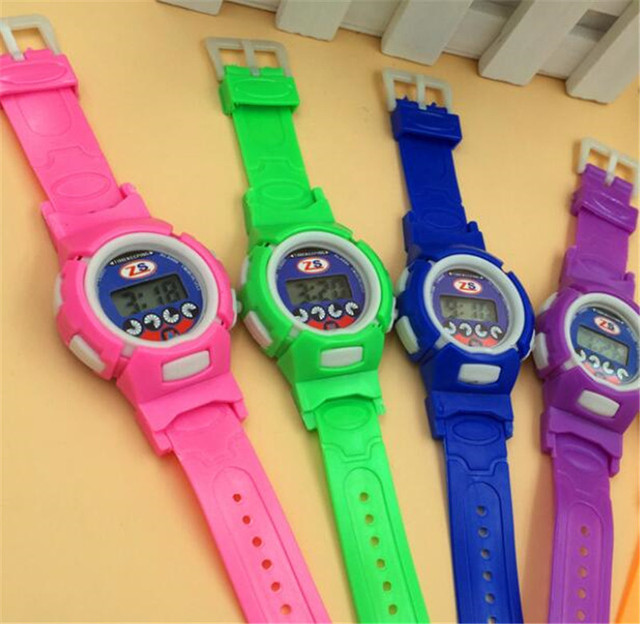 Colors led WATCHES Fashion men Military Watch Outdoor Digital Children watch Dat