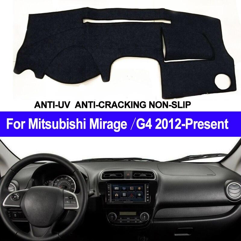 Car Dashboard Cover For Mitsubishi Mirage / Mirage G4 2012 2013 2014 2015 2016 2017 2018 2019 Presen LHD of RHD Auto Sun Shade Mitsubishi Pajero