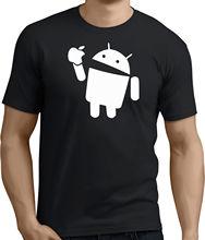 Android minin T-SHIRT joke funny slogan. Sizes s-m-l-xl-Xxxl rt-157 New T Shirts Funny Tops Tee Unisex
