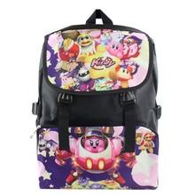 2016 mode Kirby Kinder Rucksack Cartoon Schultasche Student Taschen Doppel Schulter Anti Wasser Junge Mädchen Schultasche Nylontasche