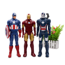 3 Styles Captain American Iron Man MK7 Tony Stark Mark PVC Action Figure Movable Joints Collectible Model Toys Kids Gifts high quality marvel egg attack iron man 2 mark 4 pvc 18cm action figure model toys gifts