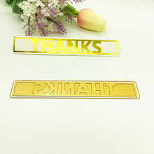 Julyarts New Word Die Thanks Metal Cutting 2019 For Scrapbooking Stencils Stamp Paper Card Cut Hot Foil Plate Craft