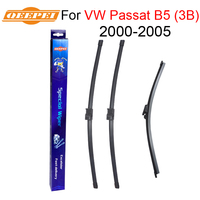 QEEPEI Front And Rear Wiper Blade No Arm For VW Passat B5 3B 2000 2005 High