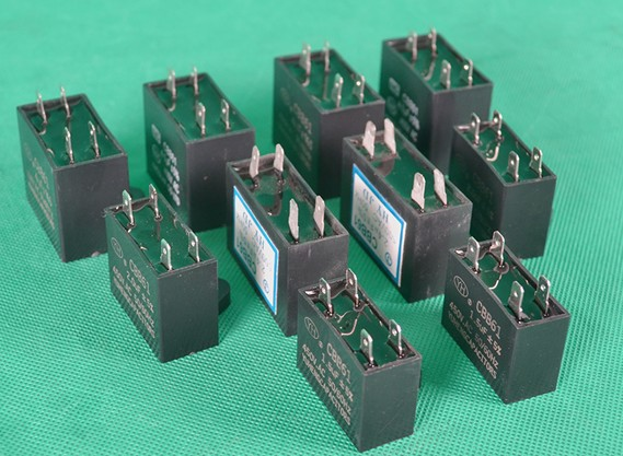 Free shipping/5 pcs/Air conditioner fan capacitor 1.5/2/2.5/3/4/5/6uF 450V air conditioning capacitor inserts Accessories
