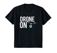 2019 New Mens T Shirts Drone On T Shirt for RC Drone with Camera UAS Pilot 100% Cotton Brand New T-Shirts(China)
