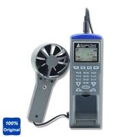 AZ-9871 공기 속도 테스트 습도 온도 테스트 젖은 전구 온도 테스터 공기 흐름 데이터 로거 기록 프린