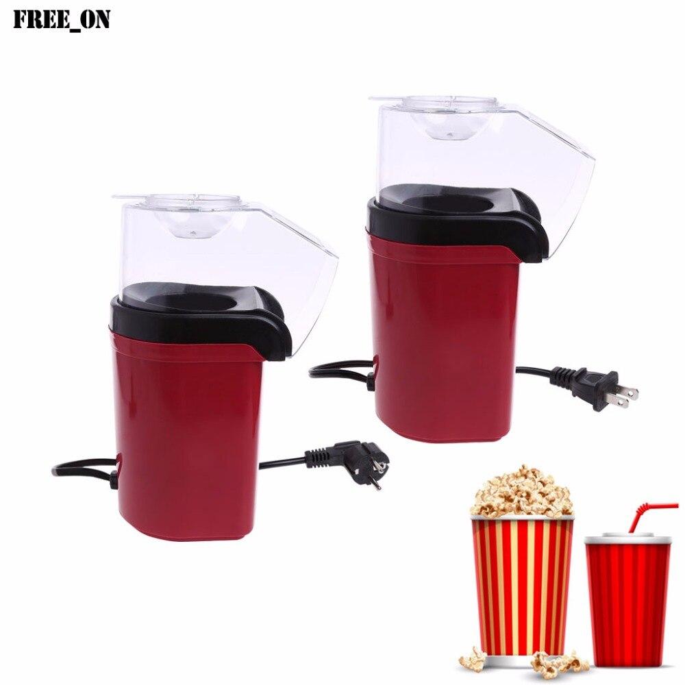 Free_on 1200W Mini Popcorn Making Machine Maker Corn Poping Popper Kitchen US/EU Plug pop 06 economic popcorn maker commercial popcorn machine with cart