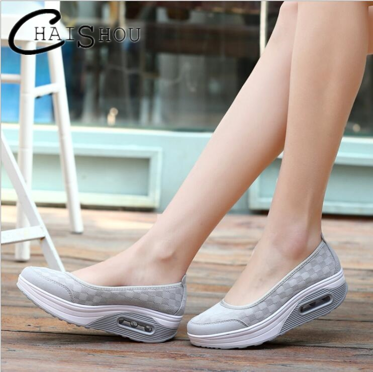 2018 New spring Summer Women Flat Platform Shoes Woman Casual Air Mesh Breathable Thick bottom Shoes women zapatos mujer U080 pinsen 2017 summer women flat platform sandals shoes woman casual air mesh comfortable breathable shoes lace up zapatillas mujer