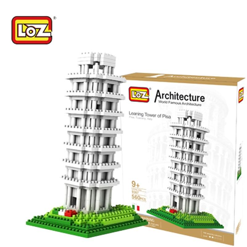 Loz Svjetski poznati građevni blokovi Model Moskva toranj Big Ben - Izgradnja igračke - Foto 5