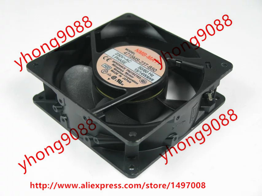 все цены на  Free Shipping For   NMB 4715MS-23T-B50 H00 AC 230V 15W 120x120x38mm Server Square Cooling Fan  онлайн