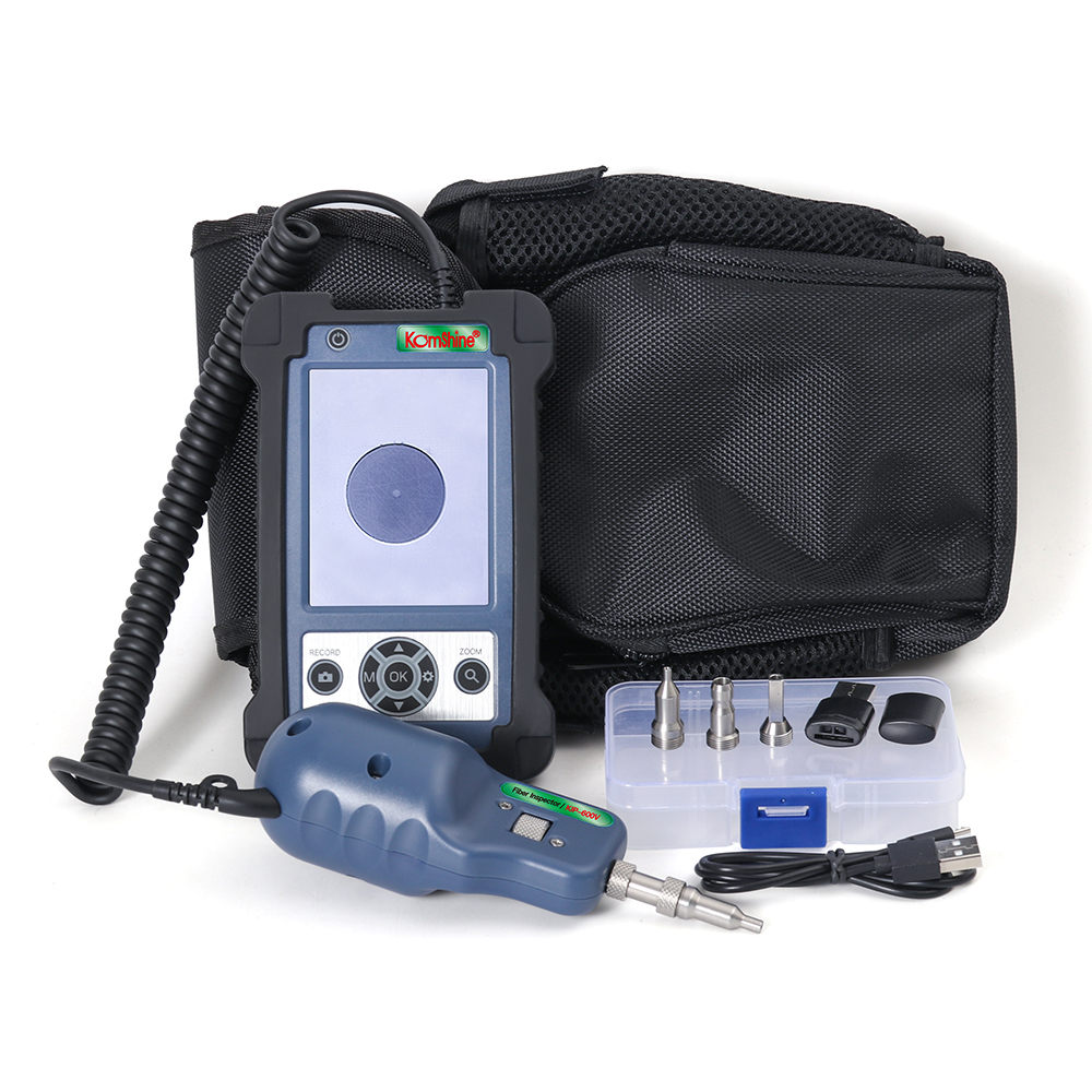 Image 5 - 400X Magnification Inspection Probe KIP 600V Fiber Optic Video Inspection Probe and Display, Fiber Optic Inspector with four tip-in Fiber Optic Equipments from Cellphones & Telecommunications