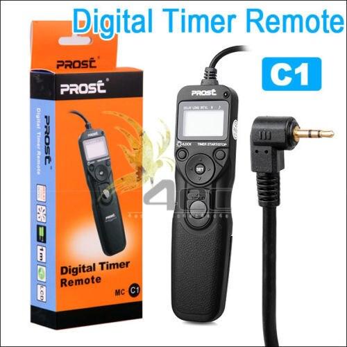PROST Intervalltimer Timer Fernauslöser Auslöser für CANON EOS 50D 300 V 350D 400D 450D 500D 550D 1000D C1 Kamera großhandel