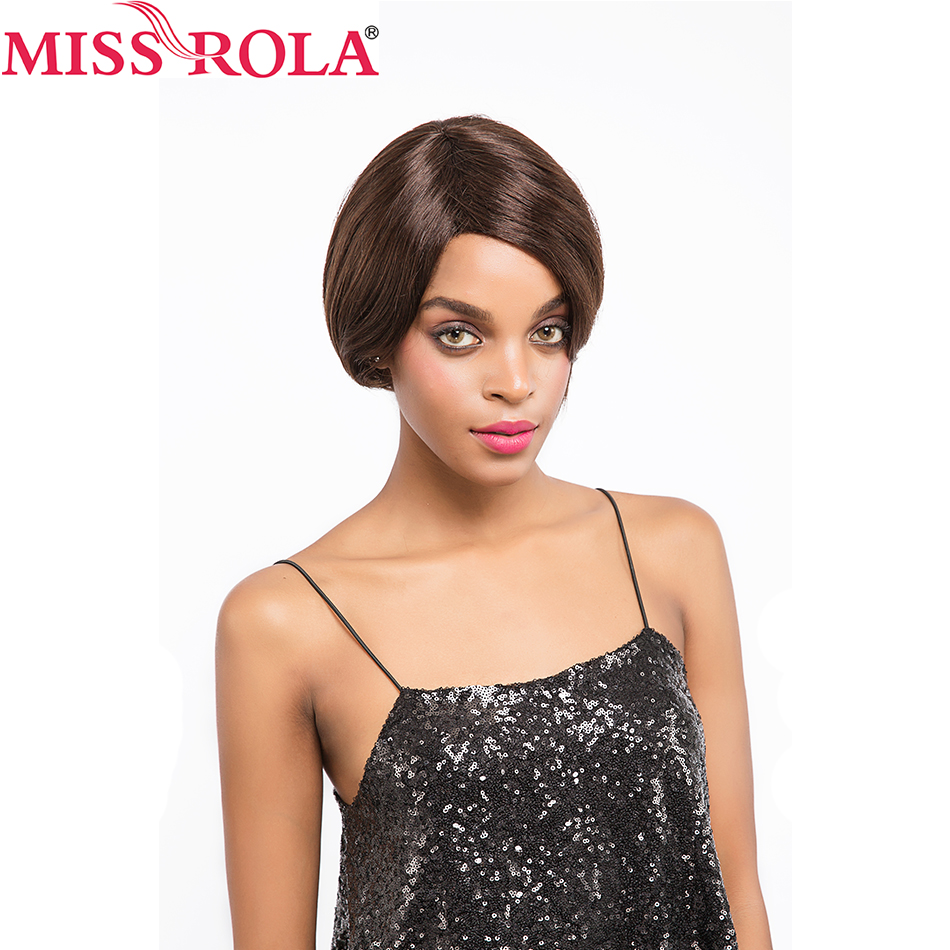 Miss Rola Hair Brazilian Human Hair Straight 2 4color 82g pcFree Shipping Whole Manchine Hair for