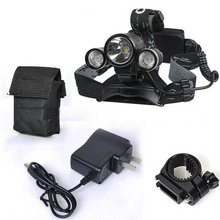 CREE XM-L T6 LED Rechargeable Flashlight Bicycle Light Cycling HeadLight headLamp 18650 Battery For Camping Fishing Bike