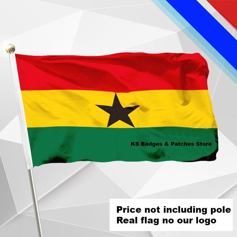 3x5ft Ghana Flagge Fliegen Flagge #4 144x96 #1 288x192 #2 240x160 #3 192x128 #5 96x64 #6 60x40 #7 30x20 Ks-0084-c