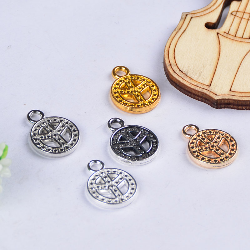 1851317mm peace mark pendant and pendants fit for diy jewelry 1851317mm peace mark pendant and pendants fit for diy jewelry making supplies embellishment collane necklace 20pcslot in jewelry findings components aloadofball Gallery